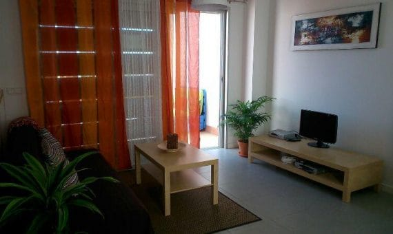 Apartment in Granadilla,  El Medano, 85 m2, fully furniture, terrace, balcony   | 2
