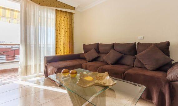 Apartment in Adeje,  Fañabe Pueblo, 100 m2, fully furniture, terrace, balcony, garage, parking     4