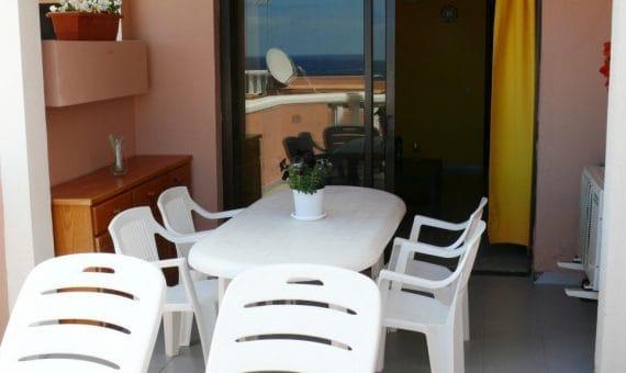 Apartment in Adeje,  Playa de Fañabe, 36 m2, fully furniture, terrace   | 2