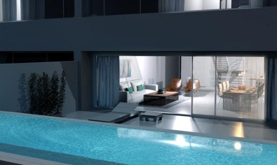 Квартира в Сантъяго-дель-Тейде,  Лос Хигантес, 132 м2, террасса, гараж   | 4