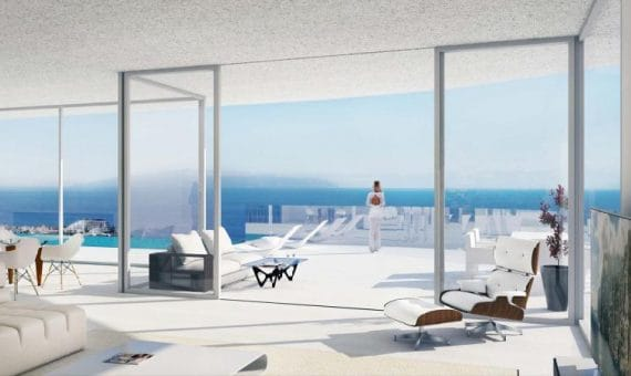 Квартира в Сантъяго-дель-Тейде,  Лос Хигантес, 190 м2, с мебелью, террасса, гараж   | 2