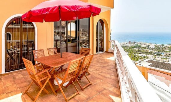 Villa in Adeje, city San Eugenio Alto, 150 m2, fully furniture, terrace, balcony   | 109645-570x340-jpg