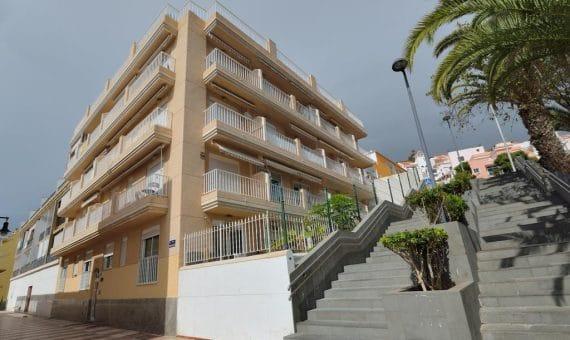 Квартира в Арона,  Лос-Кристианос, 60 м2, с мебелью, сад, террасса   | 2