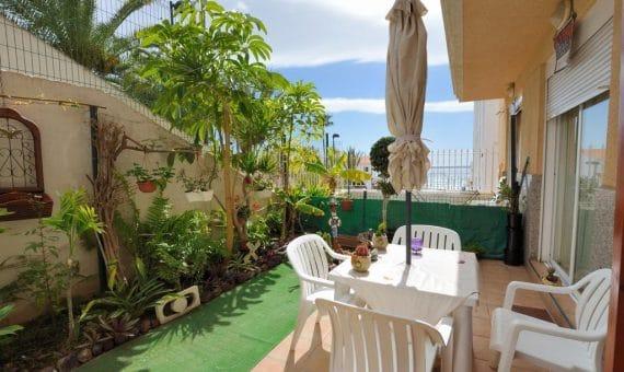 Квартира в Арона,  Лос-Кристианос, 60 м2, с мебелью, сад, террасса   | 3