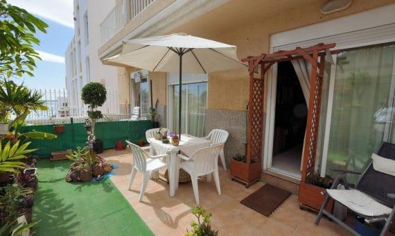 Apartment in Arona, city Los Cristianos, 60 m2, fully furniture, garden, terrace   | 109822-570x340-jpg