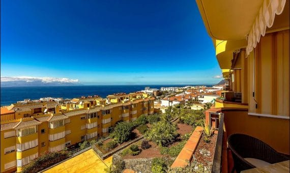 Piso en Santiago del Teide,  Playa la Arena, 110 m2, jardin, terraza, balcon, garaje, aparcamento, aparcamento   | 2