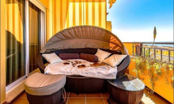 Apartment in Santiago del Teide,  Playa la Arena, 110 m2, garden, terrace, balcony, garage, parking   | 4