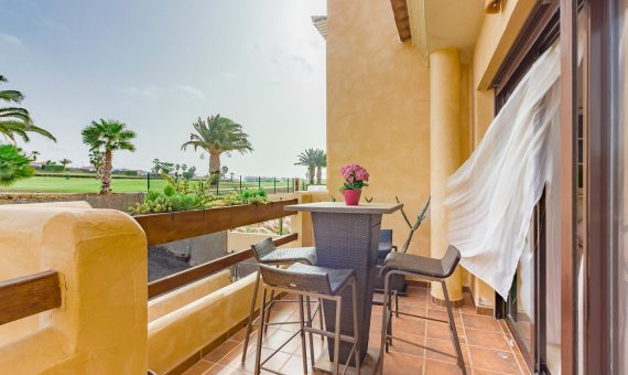 Apartment in San Miguel de Abona,  Amarilla Golf, 143 m2, fully furniture, garden, terrace, balcony, garage, parking   | 1