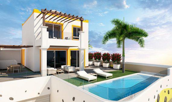 Villa in Adeje,  San Eugenio Alto, 432 m2, garden, terrace, balcony, garage, parking   | 4