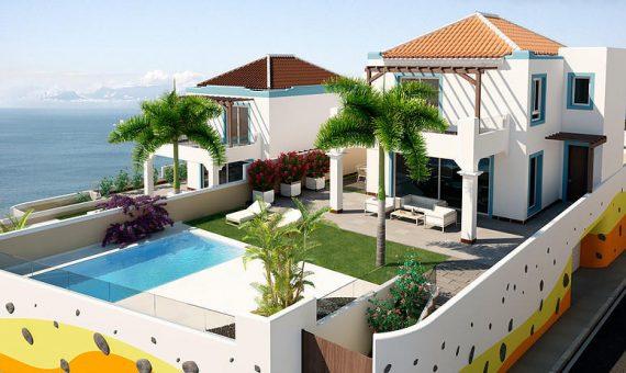 Casa en Adeje,  San Eugenio Alto, 432 m2, jardin, terraza, balcon, garaje, aparcamento, aparcamento   | 112632-570x340-jpg