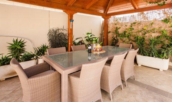 Таунхаус в Арона,  Лос-Кристианос, 152 м2, с мебелью, сад, террасса, гараж   | 2