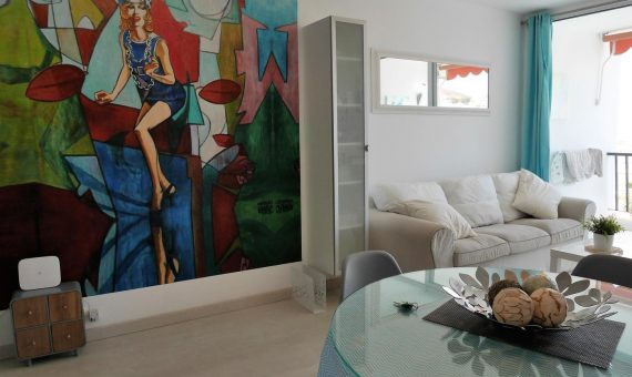 Apartment in Arona,  Los Cristianos, 50 m2, fully furniture, terrace   | 3