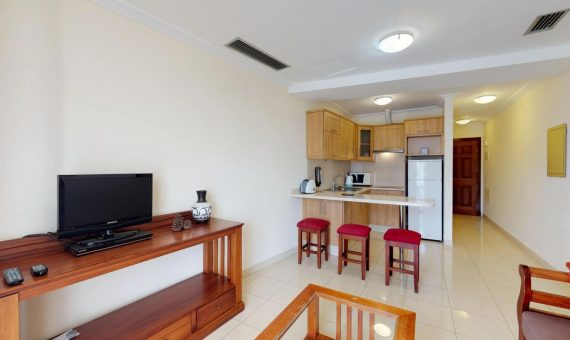 Apartment in Arona, city Las Americas, 41 m2, fully furniture, balcony   | 116684-570x340-jpg
