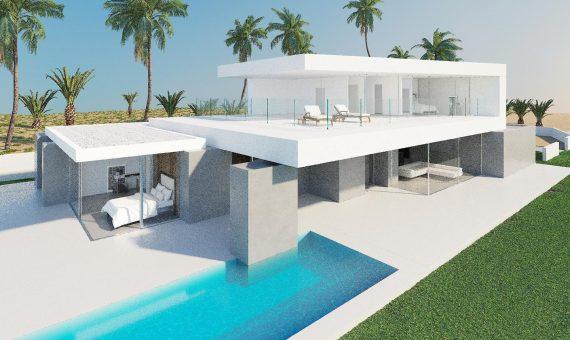 Villa in Adeje,  Golf Costa Adeje, 381 m2, garden, terrace, garage, parking   | 1