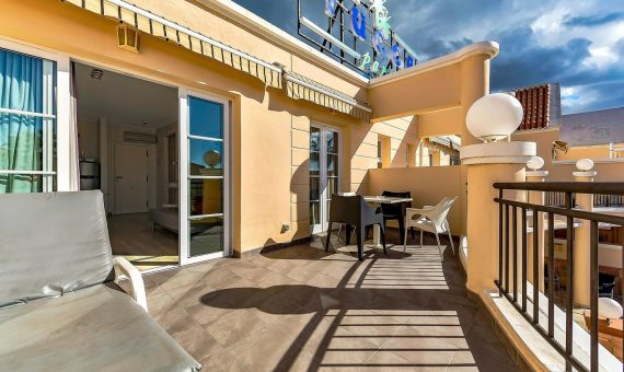 Apartment in Adeje,  Playa de Fañabe, 80 m2, fully furniture, terrace   | 2