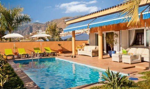 Casa en Santiago del Teide,  Playa la Arena, 195 m2, con mueble, jardin, terraza, garaje, aparcamento, aparcamento   | 118933-570x340-jpg