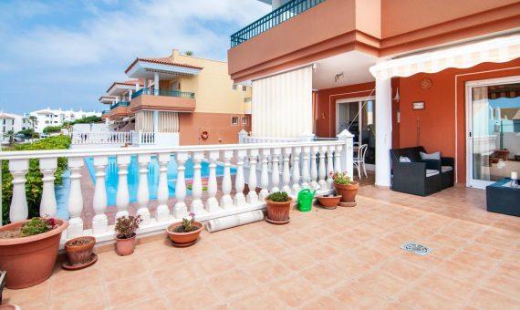 Apartment in Adeje,  Callao Salvaje, 78 m2, fully furniture, terrace, garage, parking     4