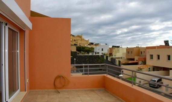 Townhouse in Adeje,  El Madroñal, 118 m2, partially furniture, garden, terrace   | 1