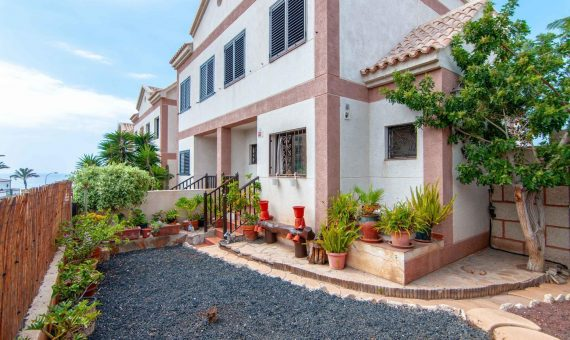Townhouse in Adeje,  Playa Paraiso, 145 m2, fully furniture, garden, terrace, garage, parking   | 122248-570x340-jpg