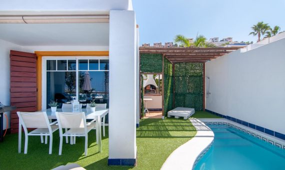 Townhouse in Adeje, city San Eugenio Alto, 168 m2, garden, terrace, garage, parking   | 122950-570x340-jpg