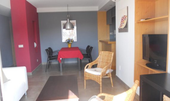 Apartment in Santiago del Teide,  Puerto Santiago, 89 m2, fully furniture, terrace, garage, parking   | 3