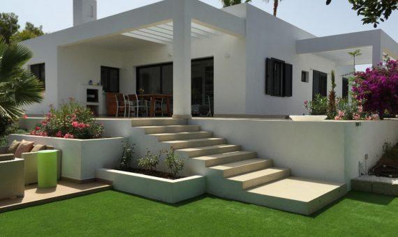 Вилла в Адехе,  Плайя-Параисо, 180 м2, с мебелью, сад, террасса, гараж   | 2