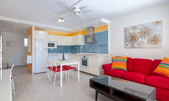 Piso en Adeje,  Torviscas Bajo, 62 m2, con mueble, terraza   | 3