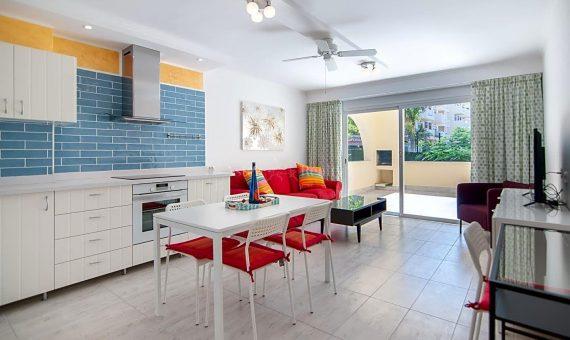 Apartment in Adeje,  Torviscas Bajo, 62 m2, fully furniture, terrace   | 4