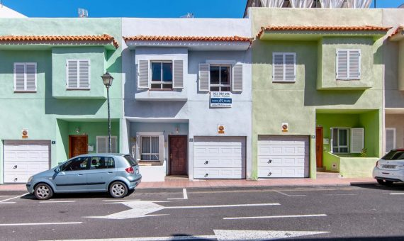 Townhouse in Guia de Isora, city Alcala, 103 m2, fully furniture, terrace, garage, parking   | 123972-570x340-jpg