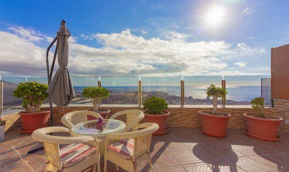 Villa in Adeje, city Torviscas Alto, 194 m2, fully furniture, terrace   | 125204-570x340-jpg