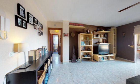 Квартира в Арона,  Лос-Кристианос, 90 м2, с мебелью, террасса   | 2