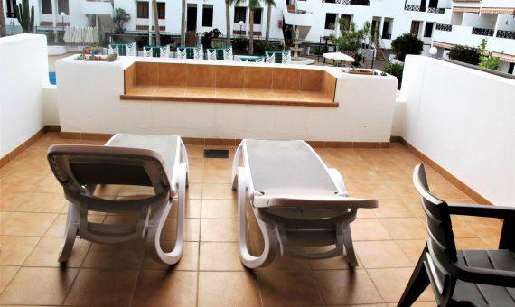 Apartment in Arona, city Los Cristianos, 49 m2, fully furniture, terrace   | 125374-570x340-jpg