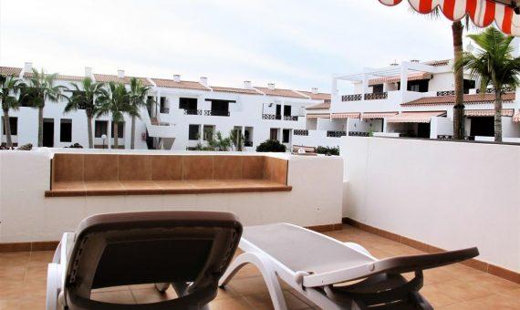 Квартира в Арона,  Лос-Кристианос, 49 м2, с мебелью, террасса   | 2