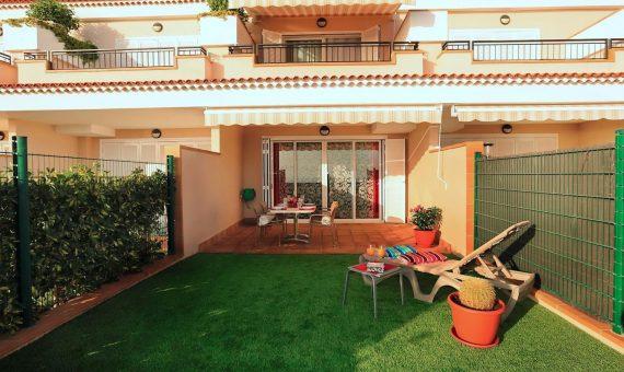Casa adosada en Santiago del Teide,  Playa la Arena, 171 m2, con mueble, terraza, garaje, aparcamento, aparcamento   | 4