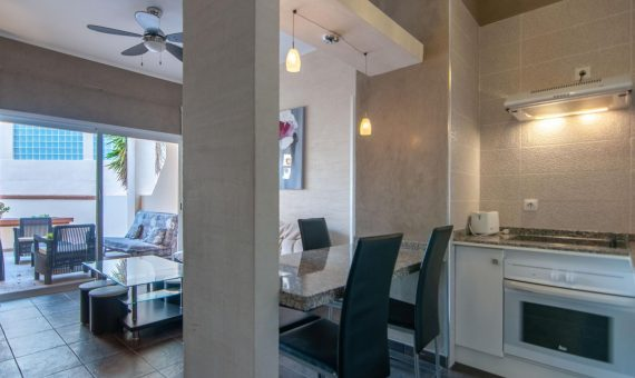 Apartment in Adeje,  Playa de Fañabe, 40 m2, fully furniture, terrace   | 1