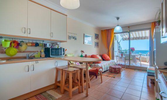 Piso en Granadilla,  El Medano, 85 m2, con mueble, terraza   | 2