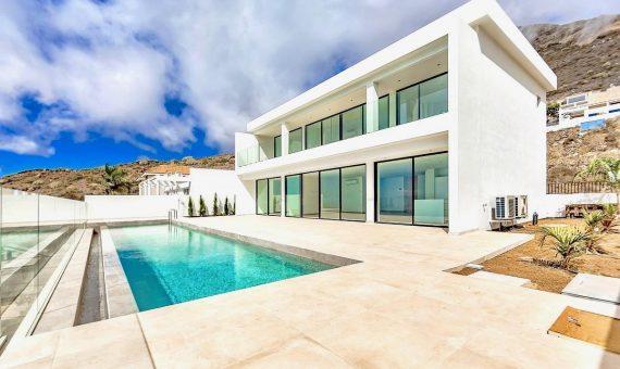 Villa in Adeje, city Torviscas Alto, 184 m2, terrace, garage, parking   | 126509-570x340-jpg