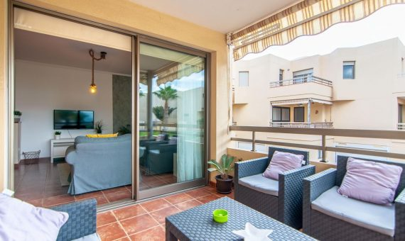 Townhouse in Granadilla,  El Medano, 176 m2, fully furniture, terrace, garage, parking   | 2