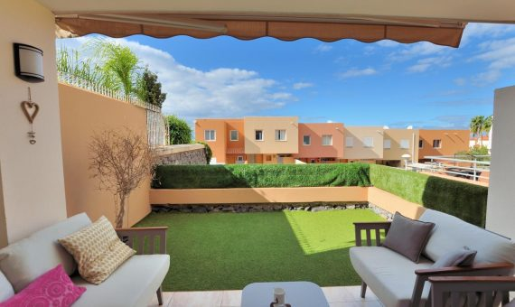 Townhouse in Adeje,  El Madroñal, 222 m2, garden, terrace, garage, parking   | 126878-570x340-jpg
