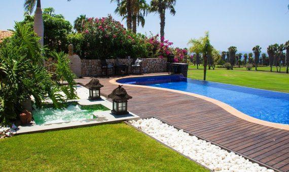 Villa in Adeje,  Golf Costa Adeje, 374 m2, fully furniture, garden, terrace, garage, parking   | 126973-570x340-jpg