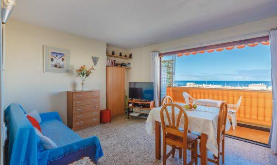 Квартира в Арона,  Лос-Кристианос, 41 м2, с мебелью, террасса   | 2