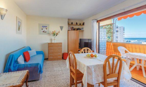 Квартира в Арона,  Лос-Кристианос, 41 м2, с мебелью, террасса   | 3