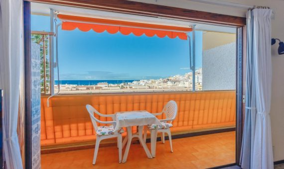 Квартира в Арона,  Лос-Кристианос, 41 м2, с мебелью, террасса   | 4
