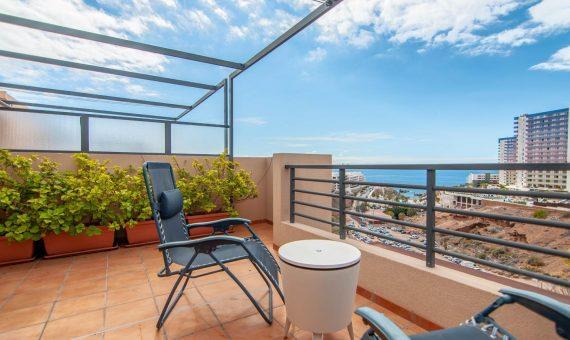 Townhouse in Adeje,  Playa Paraiso, 175 m2, fully furniture, garden, terrace, balcony, garage, parking   | 3