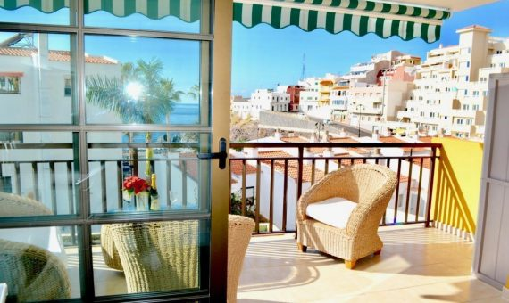 Apartment in Santiago del Teide,  Puerto Santiago, 90 m2, fully furniture, terrace   | 1
