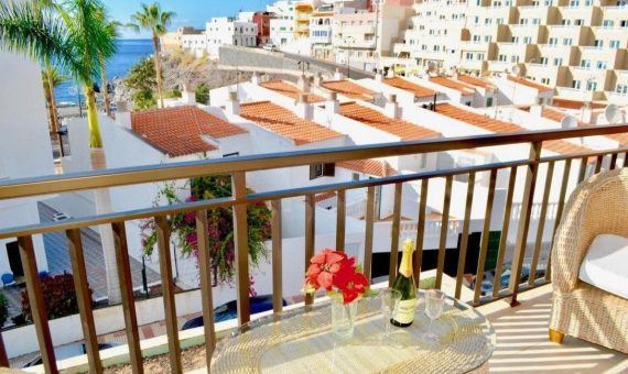 Apartment in Santiago del Teide,  Puerto Santiago, 90 m2, fully furniture, terrace   | 3