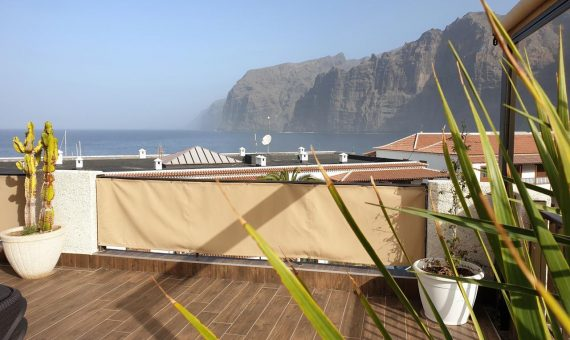 Apartment in Santiago del Teide,  Los Gigantes, 110 m2, fully furniture, terrace   | 128591-570x340-jpg