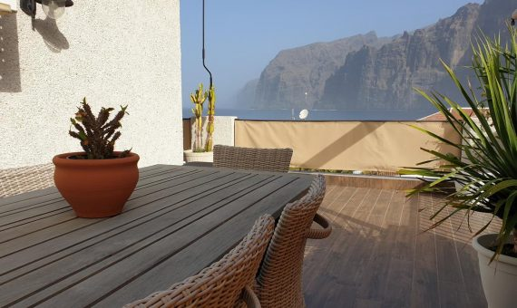 Apartment in Santiago del Teide,  Los Gigantes, 110 m2, fully furniture, terrace   | 1