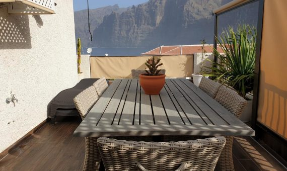 Apartment in Santiago del Teide,  Los Gigantes, 110 m2, fully furniture, terrace   | 2