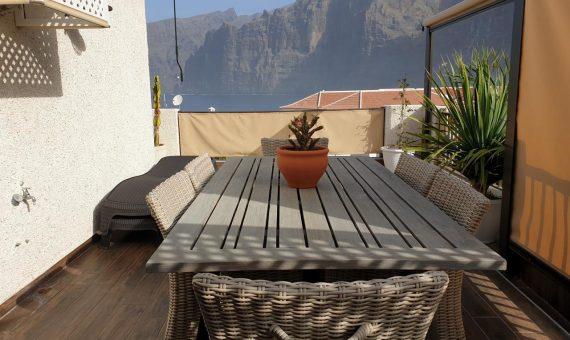 Квартира в Сантъяго-дель-Тейде,  Лос Хигантес, 110 м2, с мебелью, террасса   | 3